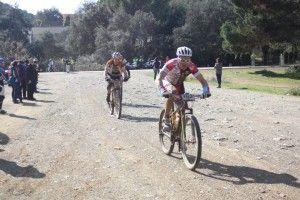 Jorge López y Francisco Josdé Delgado en la Andalucía Bike Race