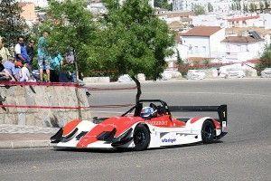 Andrés Vilariño al volante de su Norma