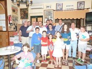 Campeones del III Torneo de Ajedrez Peña Taurina Hermanos Bohórquez