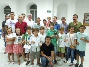 Ganadores del Torneo de Feria de Ajedrez