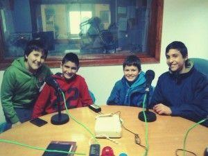De izda a dcha., Juan Carlos Rosado, Alberto Pérez, Juan María Menacho y Jorge Prieto
