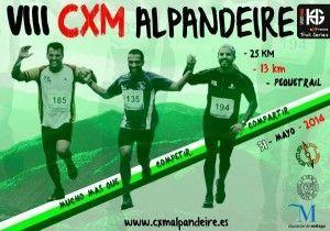 Cartel de la CxM Alpandeire
