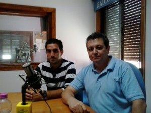 Miguel Ángel Mellado y Antonio Gómez