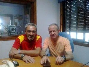 Pedro Benítez y Vicente Domínguez
