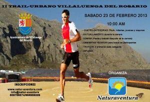 Cartel Trail Urbana Villaluenga del Rosario