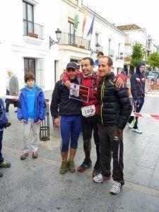 Juan de Dios Mateos y Francisco Pazo, los dos vencedores de la Ultra de los Bandoleros