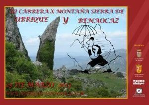 Cartel Carrera por Montaña Sierra de Ubrique - Benaocaz