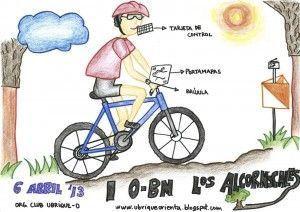 Cartel del O - BM Los Alcornocales