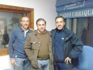 Juan de Dios Baena, Juan Luis Pérez y Paco Benítez Benítez
