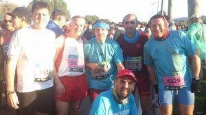 Ubriqueños en la Maratón de Sevilla