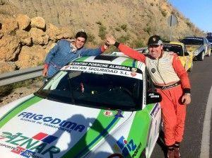 José Antonio Aznar con su Porsche