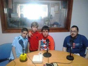 José Antonio Corral, Carlos Lobato, Francisco López y José Manuel Rubio