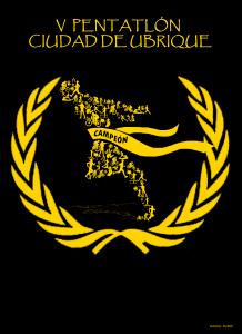 Cartel del V Pentatlón