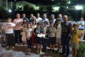 Cuadro de ganadores del Torneo de Primavera de Ajedrez