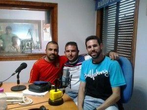 Miguel Domínguez, José Antonio Herrera y Leandro Izquierdo