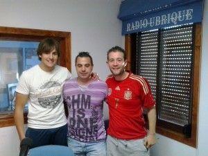 Luis Domínguez, Dani Román y Dani Villanueva