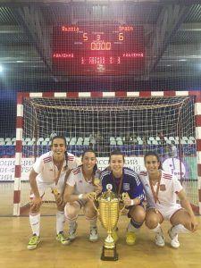 España campeona FS