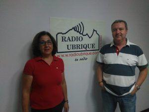 Ángeles Castro y Ángel David Bohórquez