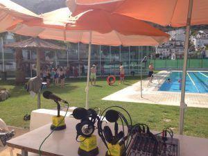 piscina y micros